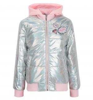 Куртка  Bombetta, цвет: серебряный Acoola
