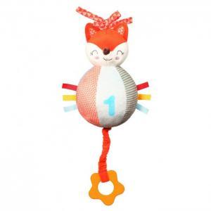 Развивающая игрушка  музыкальная с прорезывателем Fox Vincent BabyOno