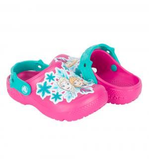 Сабо  Fun Lab Frozen Clog K Cdy, цвет: розовый Crocs