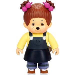 Интерактивная игрушка  Ханна, 13 см Monchhichi. Цвет: разноцветный