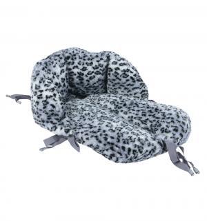 Сиденье для санок  Рысь, цвет: серый Leader Kids