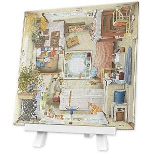 Квадратный пазл  Кухня, 256 элементов Pintoo