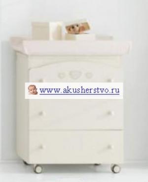 Комод  Abbraccio пеленальный (3 ящика) Erbesi
