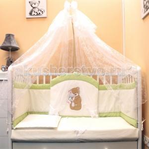 Комплект в кроватку  Спокойной ночи (7 предметов) Балу