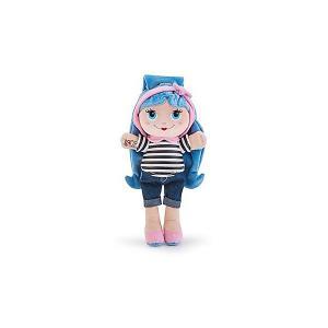 Мягкая кукла  с синими волосами, 28 см Trudi. Цвет: голубой