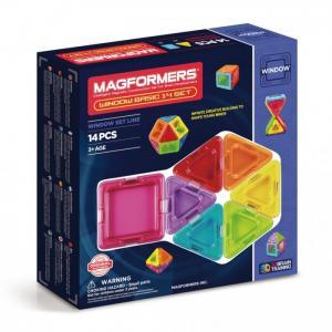 Конструктор  Магнитный Window Basic 14 set Magformers