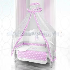 Комплект в кроватку  Unico Trovato 125х65 (6 предметов) Beatrice Bambini