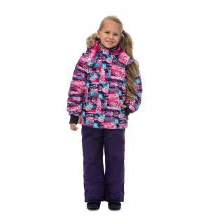 Комплект куртка/брюки  Северное сияние Юкона, цвет: фиолетовый Premont