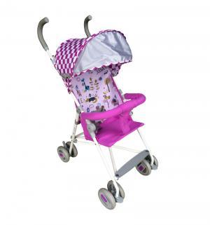 Коляска-трость  Weeny, цвет: белый/розовый BabyHit