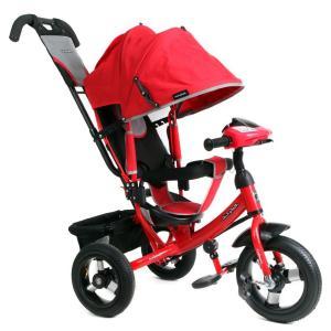 Трехколесный велосипед  Comfort 12x10 AIR Car 1, цвет: красный Moby Kids
