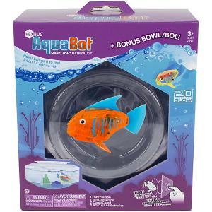 Микроробот  Светящаяся рыбка с аквариумом Hexbug. Цвет: оранжевый
