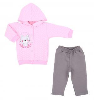 Комплект жакет/брюки , цвет: розовый Koala