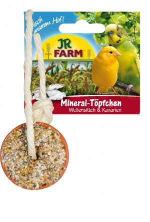 Лакомство  Минеральный горшочек для волнистых попугаев, 100г JR Farm