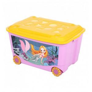 Ящик для игрушек  Том и Джерри Бытпласт