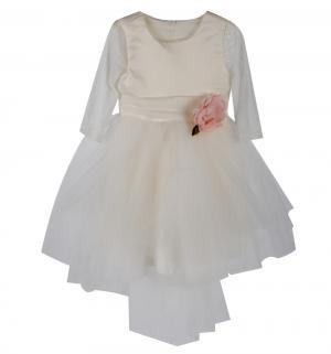 Платье , цвет: молочный Santa&Barbara