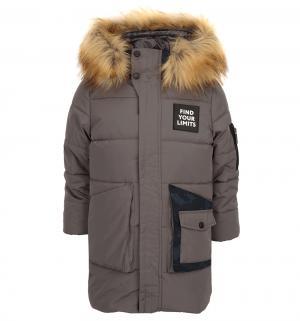 Пальто , цвет: серый Boom