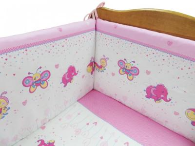 Бортик в кроватку  Ласковое лето на молниях Soni Kids