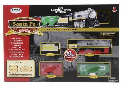 Железная дорога Santa Fe Special Train Set 29 частей Eztec