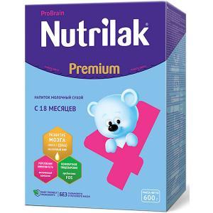 Молочный напиток  Premium 4, с 18 мес, 600 г Nutrilak