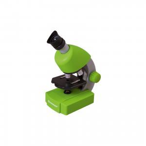 Микроскоп  Junior 40x-640x, зеленый Bresser. Цвет: зеленый