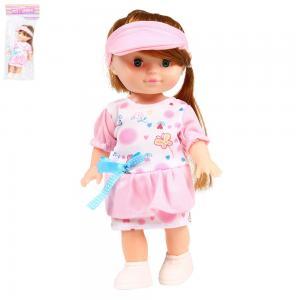 Кукла  В розовом платье 25 см S+S Toys