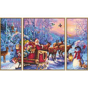 Набор для раскрашивания по номерам  Дед Мороз Schipper