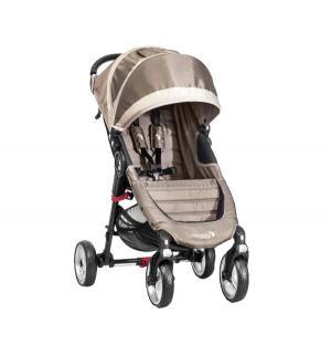 Прогулочная коляска  City Mini Single 4Weel, цвет: песочный/серый Baby Jogger
