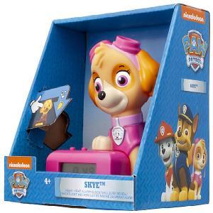 Будильник Kids Time BulbBotz Щенячий патруль «Скай» минифигура Детское время. Цвет: розовый