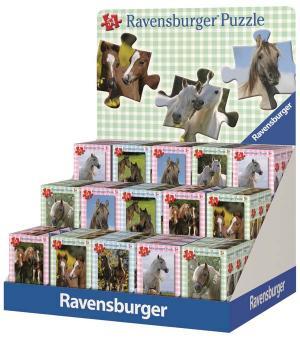 Мини-пазл  Лошади ( ) Ravensburger