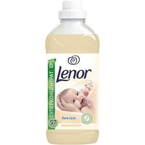 Кондиционер для детского белья  с миндальным маслом 2 л Lenor. Цвет: бежевый