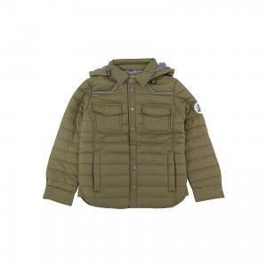 Куртка для мальчика SELA. Цвет: зеленый