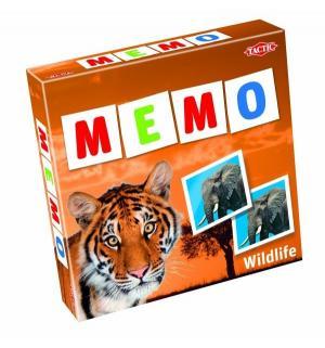 Настольная игра-мемо  Дикие животные 2 Tactic