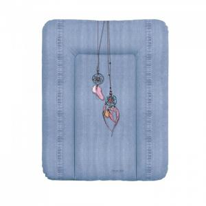 Матрас пеленальный мягкий на комод Denim Style 70x50 см Ceba Baby