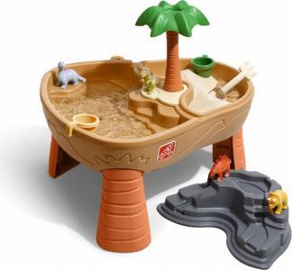 Столик для игр с водой и песком Дино Step 2