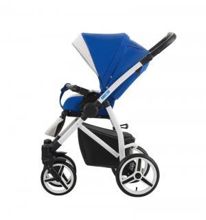Прогулочная коляска  Medio, цвет: синий/белый Aroteam