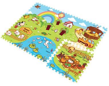 Игровой коврик  Ферма 70001 Mambobaby