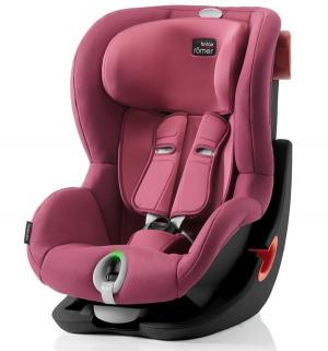 Автокресло  King II LS Black Series, цвет: wine rose Britax Romer
