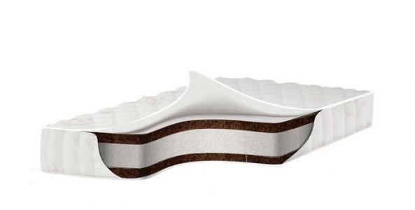 Матрас  премиум класса EcoComfort Cotton 125x65х11 Babysleep