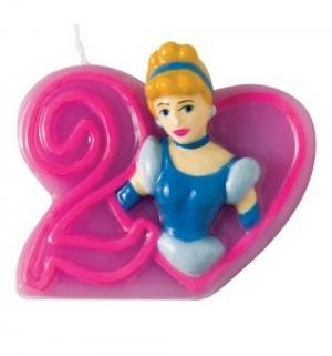 Объемная свечка  Принцессы Дисней 2 Procos