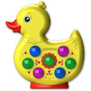 Музыкальная игрушка  Веселушки Утёнок Азбукварик. Цвет: разноцветный