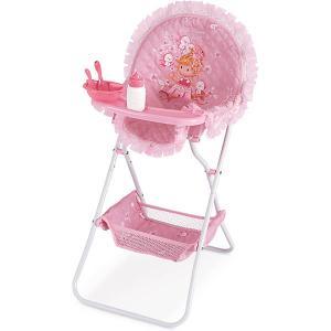 Складной стульчик для кормления куклы , серия Мария DeCuevas. Цвет: розовый