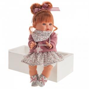 Кукла Клара в фиолетовом озвученная 30 см Munecas Antonio Juan