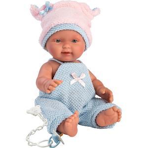 Кукла-пупс , 26 см Llorens. Цвет: pink/blau