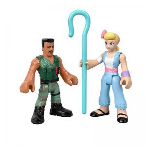 Игровой набор  Toy Story 4 Bo Peep & Combat Carl Imaginext