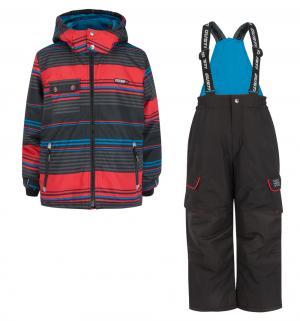 Комплект куртка/полукомбинезон , цвет: красный Gusti Boutique