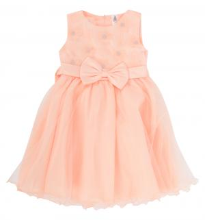 Платье , цвет: персиковый Santa&Barbara