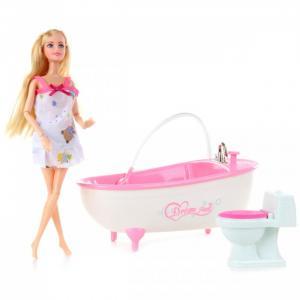 Кукла в ванной с аксессуарам Veld CO