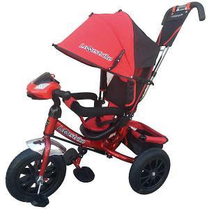Трехколесный велосипед  12/10 Lexus Trike. Цвет: красный