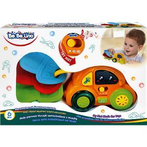 Интерактивная игрушка  Музыкальный брелок-машинка Bebelino. Цвет: желтый