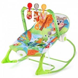 Шезлонг детский с игрушками Белочка Ути Пути